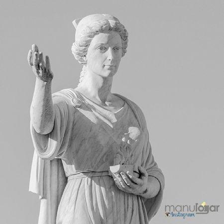 Carmo. Desde Carmona. Manulogar @manulogar Carmona  Sevilla Seville Andalusia Andalucía turismo tourism España Spain patrimonio heritage estatua statue roman romana