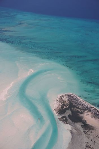 Southern Exuma Abstract aerial 45201 Bahamas Clear Water Water Beauty In Nature Aerial Photography Ocean Exuma Turquoise Beach Photography Abstract Photography Sea