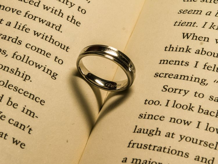 Abstract Close-up Love Ring Wedding