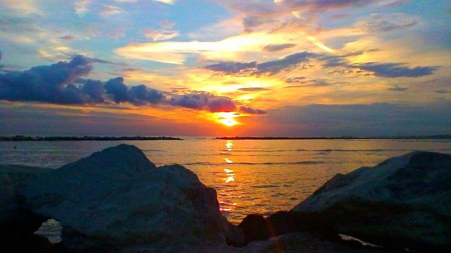 rocas sunset