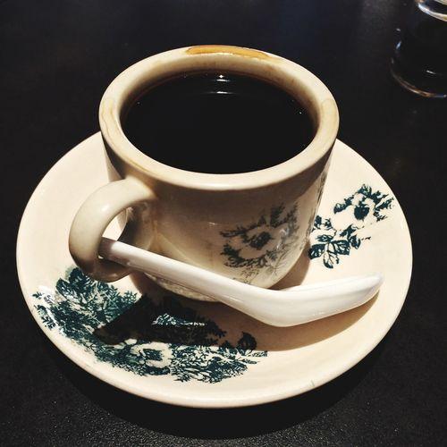 Teacup On Black