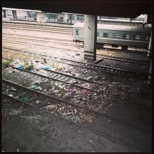 Railway Staion Garbage