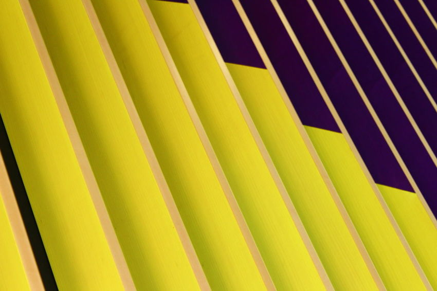 Striped No People Backgrounds Full Frame Low Angle View Abstract Close-up Pattern Yellow Day Architecture