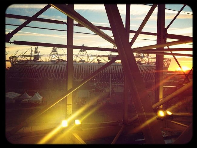 Architecture Sunset Light London Olympics 2012