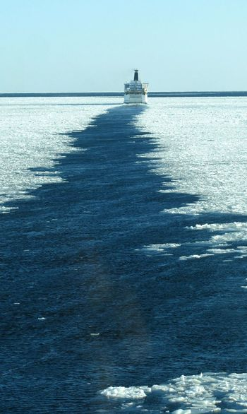 Tranquility Nature Sea Nautical Vessel Horizon Over Water Transportation Wake - Water Travel Destinations Beauty In Nature Blue Scenics No People Seascape Photography Sealife Merchantnavy Business Finance And Industry Shippingworldwide Merchant Navy Transportation Rippled Waterfront Water Water - Collection Outdoors Winter