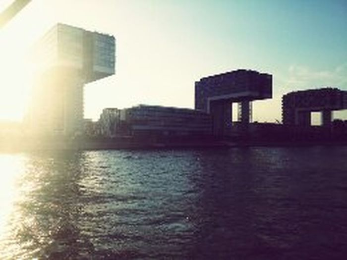 Architecture Building Story Built Structure City Day River Sky Sun Water Waterfront