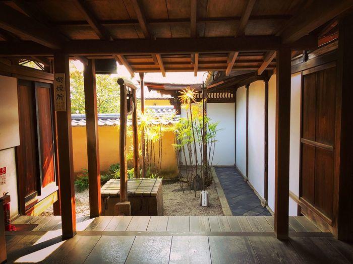 龍源院 大徳寺 Kyoto,japan Travel Destinations Tranquil Scene Japanese Garden Japan Photography Architecture Built Structure No People Indoors  Day