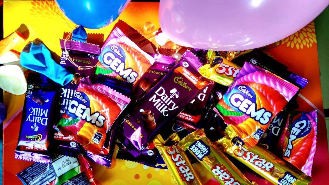Celebration Multi Colored Indoors  Chocolates Fun