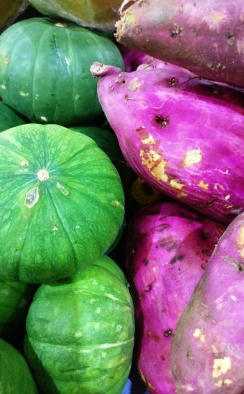 Vegetable Healthy Eating No People Close-up Full Frame Freshness Day Outdoors Nature Food Green Purple Symmetry Colors
