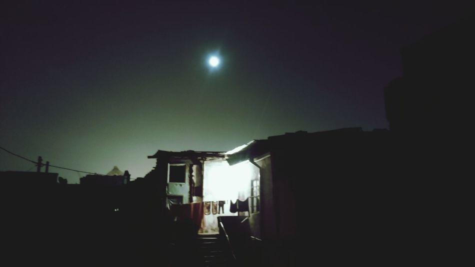 Man on the Moon Moon Moonlight Lonley Moon Monlight Under The Moonlight House Streetphotography