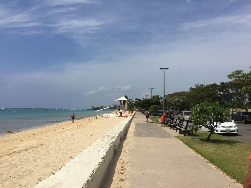 At the Beach in. Sand & Sea Ocean Hawaii Travel Travel Destinations Tourist Destination
