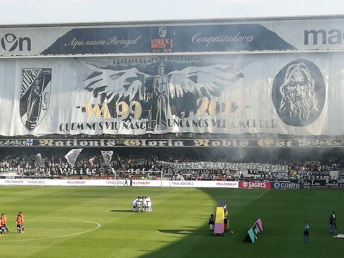 Hooligans HOOLIGANSNEVERDEAD Guimarães WhiteAngels Vitoriasportclube Ultrasfootball Ultrastyle