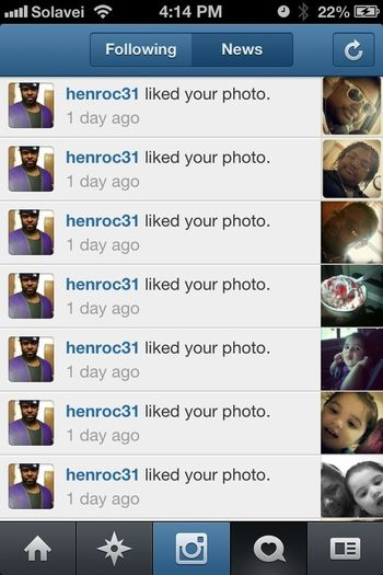 S/O to my uncle for liking every single pic on my IG