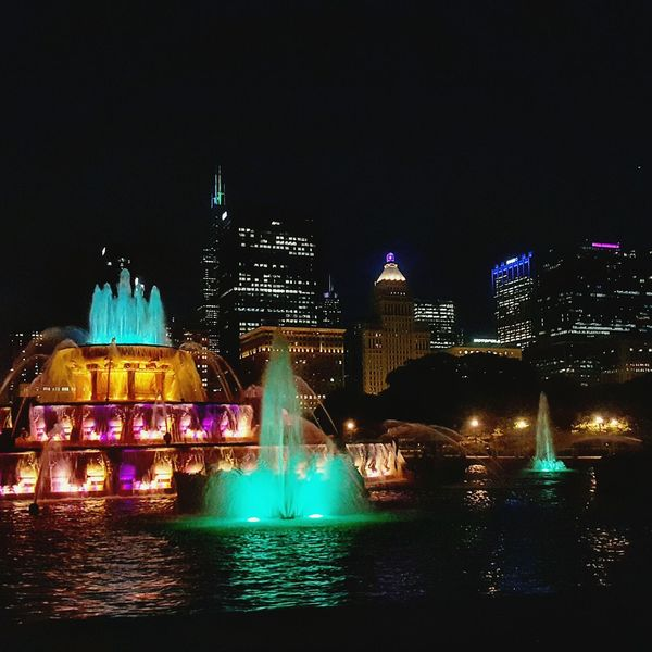 Chicago Buckinghamfountain ChiTown Windycity Mytherapy Mykindoftown Fountain_collection Color Explosion
