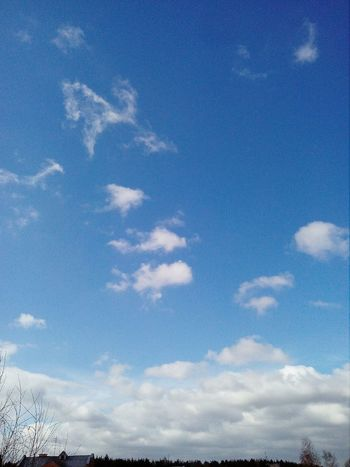 Blue Backgrounds Sky Cloud - Sky