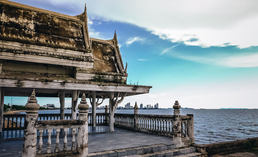 Architecture Building Building Exterior Built Structure Cloud - Sky Day History Nature No People Outdoors Religion Sea Sky The Past Tourism Travel Travel Destinations Water