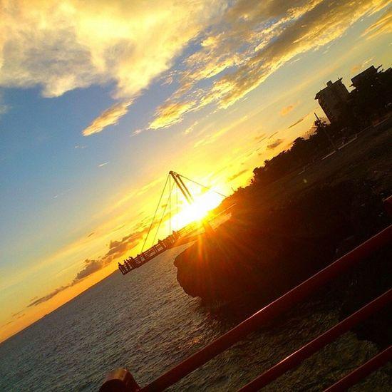 Siempre en el mismo lugar y con la misma gente... Beautiful SunsetCea  Good Times Yolo ♥