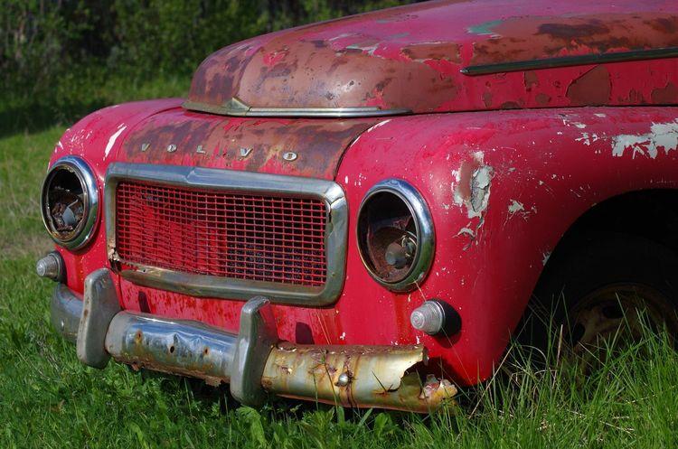 Old Oldtimer Volvocars