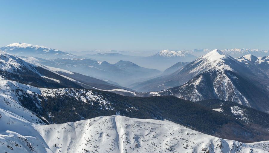Mountain Winter Snow Cold Temperature Scenics - Nature Mountain Range Beauty In Nature Sky Mountain Peak Range Nature First Eyeem Photo