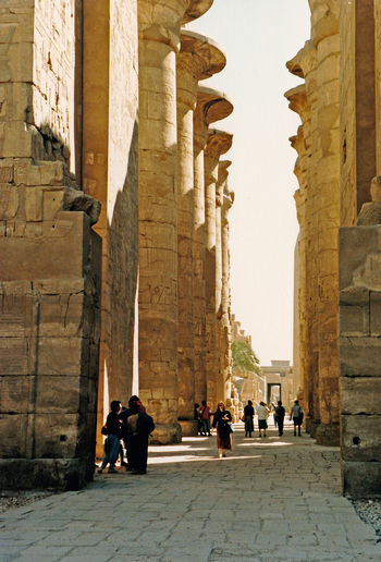 Tourist meander around the Hypostyle Hall - Great Temple of Amun, Karnak, Luxor, Egypt Architecture People Real People Men Sky Women Spirituality Travel Tourism Day History Outdoors Ancient Religion Arch Karnak Temple Lifestyles Place Of Worship Egyptology Travel Destinations Ancient Civilization Large Group Of People Leisure Activity Building Exterior Built Structure Old Ruin Architectural Column Luxor, Egypt Temple Of Amun Egyptian Columns Ancient Egyptian Place Of Worship Hypostyle Hall, Karnak Pharoh Statues Autumn Mood