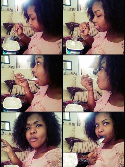 My Process Of Eating Icecream!! :D