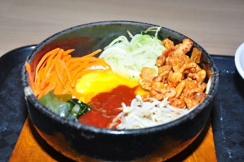 Bibimbap Asian Food Korean