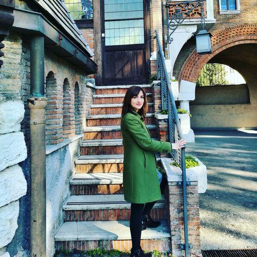 One Person People Only Women Women Roma, Italy Villatorlonia Casinadellecivette Autumn🍁🍁🍁
