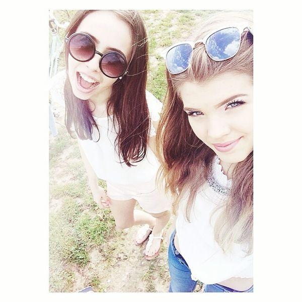 With my bff💎💎 Enjoying Life