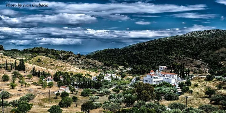 Aegina Greace Monestary Curch Fate  Landscape_photography