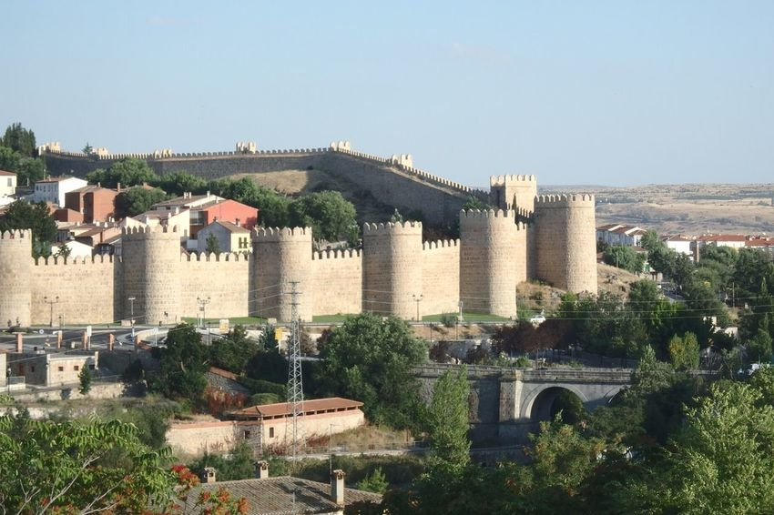 Architecture Building Exterior Outdoors Built Structure No People Old Town History Architecture Fort Old Ruin Military Avila Wall City
