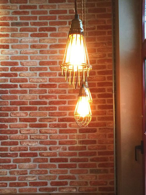 Lights Lightbulb Close-up Bar Lightning