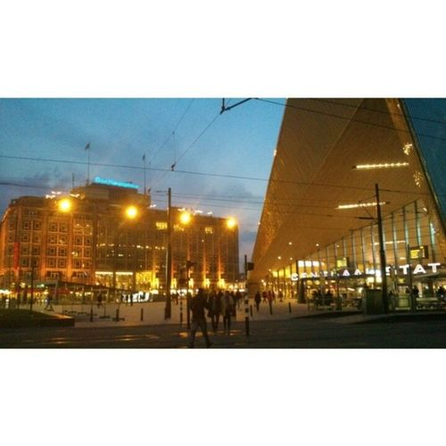 Oldskool vs Newskool... Rotterdam City World Centralstation OldSkool Building Newskool Architecture Nofilter