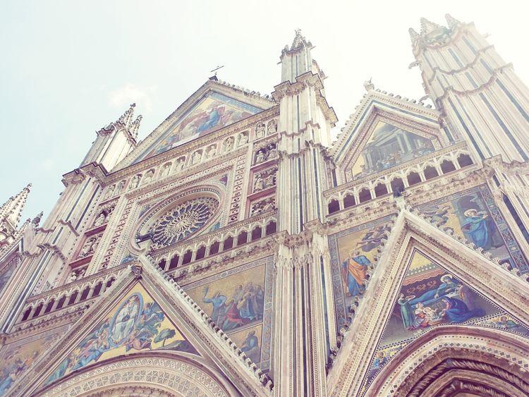 Il duomo di Orvieto... meraviglioso Take Me To Church Catedral Holidays Fantastic