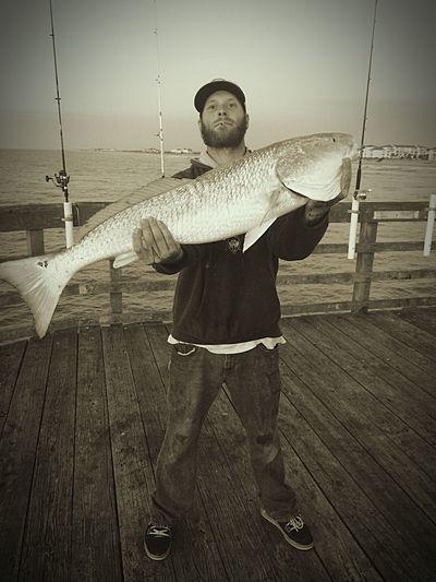 "40"" Bull Red from Seaview Pier Showcase: January Enjoying Life"