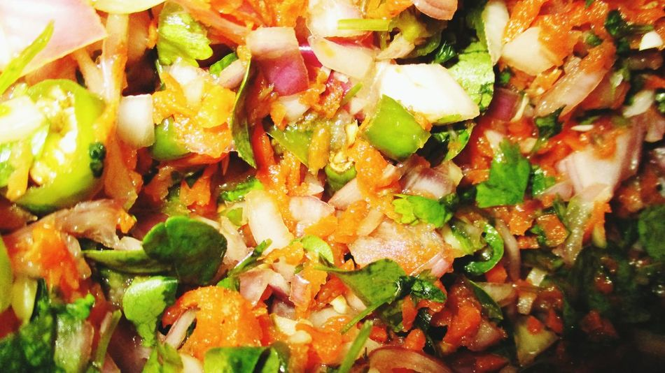 Colorful Chopped Vegetables Carrots Green Pastel Power @sekharchinta, Hyderabad India