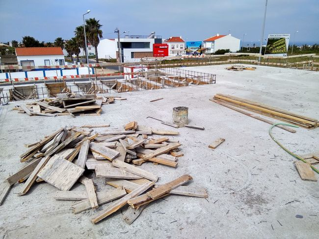 EyeEm Selects Sand Outdoors Beach Day No People Construction Built Structure Construction Work