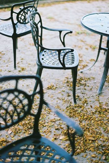 Details : A Chair in KL Pac, Sentul, Kuala Lumpur, Malaysia. Shot Composition Contax 645 Film Film Is Not Dead Lonely Bare Finish Chair Chairs Connection Details Film Photography