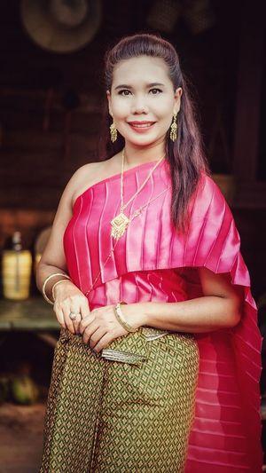 thai dress Thai_dress Thailand🇹🇭 Women Thai Portrait Portrait Of A Woman Thai