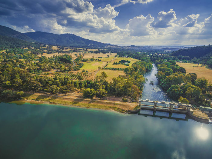 Aerial view of Lake Eildon and Goulburn river. Melbourne, Australia Australia Australian Australian Landscape Drone  Nature Scenic View Aerial Aerial View Beauty In Nature Dam Day Drone Photography Eildon Lake Lake Eildon Landscape Mountain Nature No People Outdoors Park River Scenics Sky Tree Water