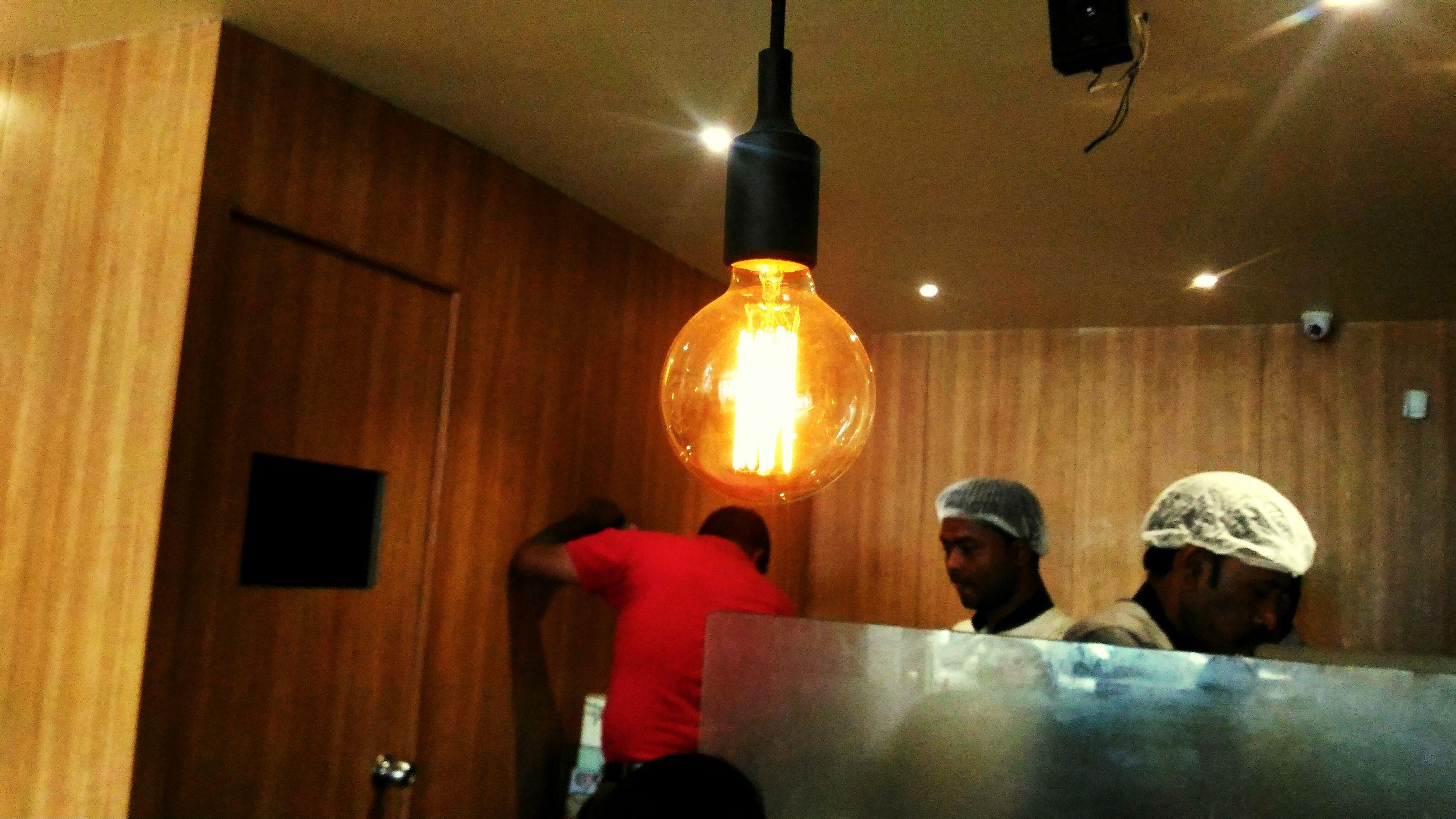 illuminated, indoors, lighting equipment, bar - drink establishment, electric light