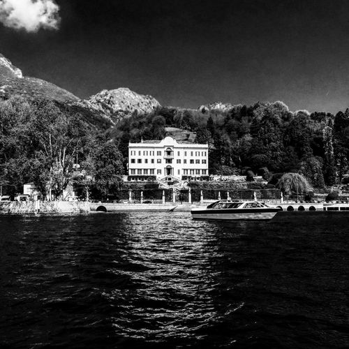 Friends of Carlotta Lakeview Villa Carlotta Architecture Boatride Building Exterior Built Structure Day Italy Lago Di Como Nature No People Outdoors Rippled Sky Tree Water Waterfront
