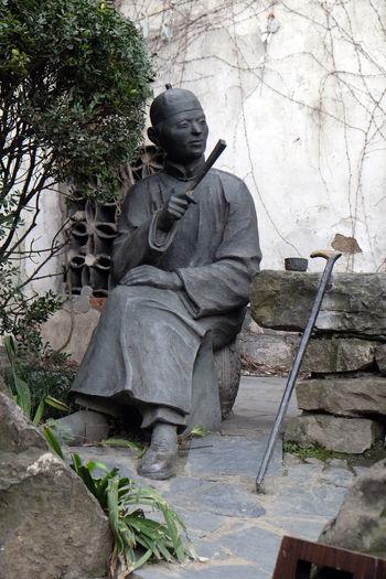 Statue in