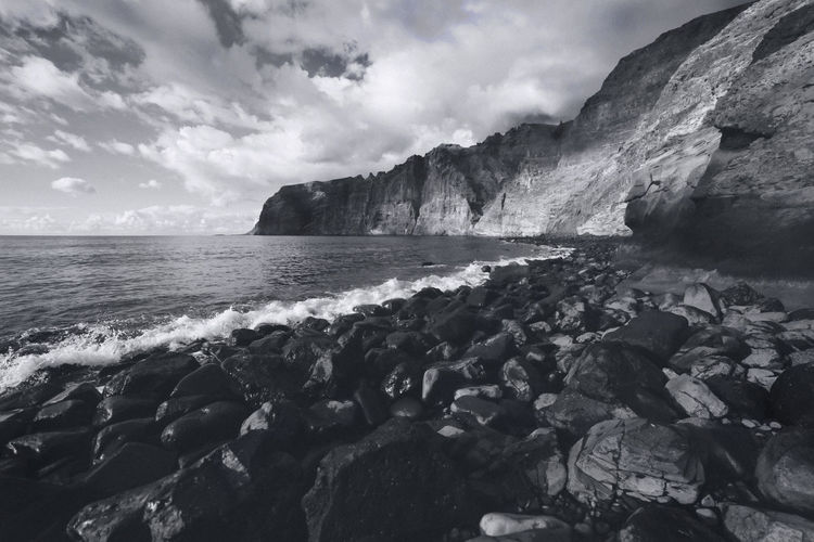 nr.44 Alone Beach Beautiful Beauty In Nature Beauty In Nature Blackandwhite Bw Bw_collection Chilling Day Freedom Nature No People Ocean Outdoors Reflection Rock - Object Scenics Sea Sky Time Tranquil Scene View Water TheWeekOnEyeEM
