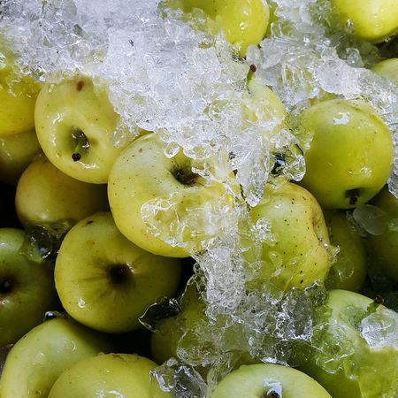 Fresh Friuts Apples Ice