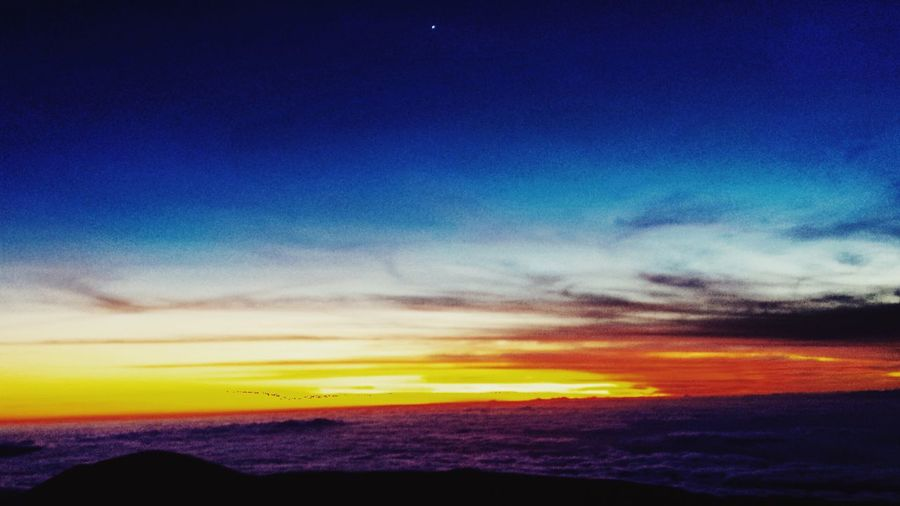 On top of the world, over the clouds Mauna Loa Observatory Eye4photography  EyeEm Best Shots Tadaa Community Venus Sunset Over The Clouds Landscape_Collection Hawaii OpenEdit