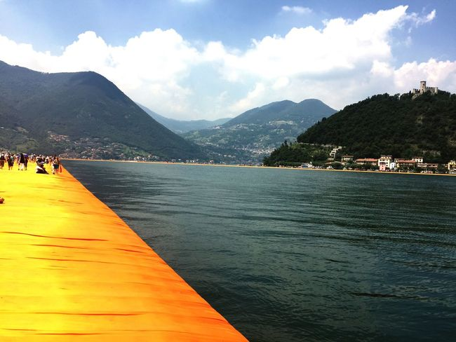 Floating Piers Christo Installation Art ArtWork Orange Walking On Water Summer Lago Di Iseo 43 Golden Moments On The Way Fine Art Photography My Year My View