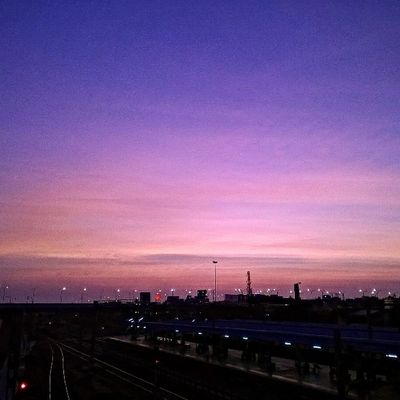 Lumia Lumiacamera Instapic Nofilter Fslc Tfl Bliss Skyporn Urbanporn Landscape Gradient Sky Sun Goldenhour Twilight Bliss Tambaram Chennai