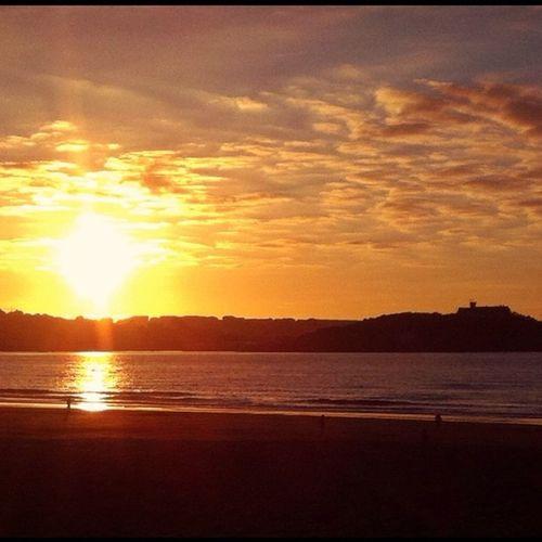 Sunset Somo Viewofsantander