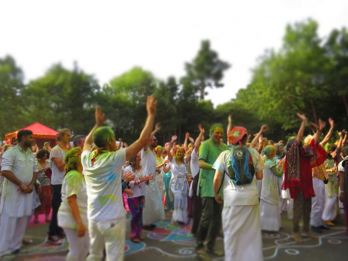 Celebration Colors Happiness Heidenrod Just Love Festival 2017 Life Love Unity Universal Love Atmospheric Celebration Cultures Dancing Energetic Enjoyment Excitement Fun Holi Large Group Of People Life Events Party Real People Tradition Vibe Vibration