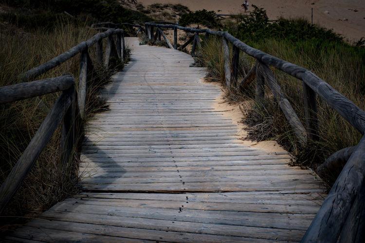 Footbridge Hand Rail Stairs Outdoor Play Equipment